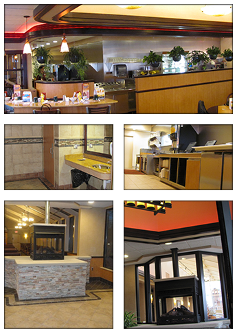 Restaurant Builder Contractors Design and Build Firm - Midwest Holly, MI Detroit.
